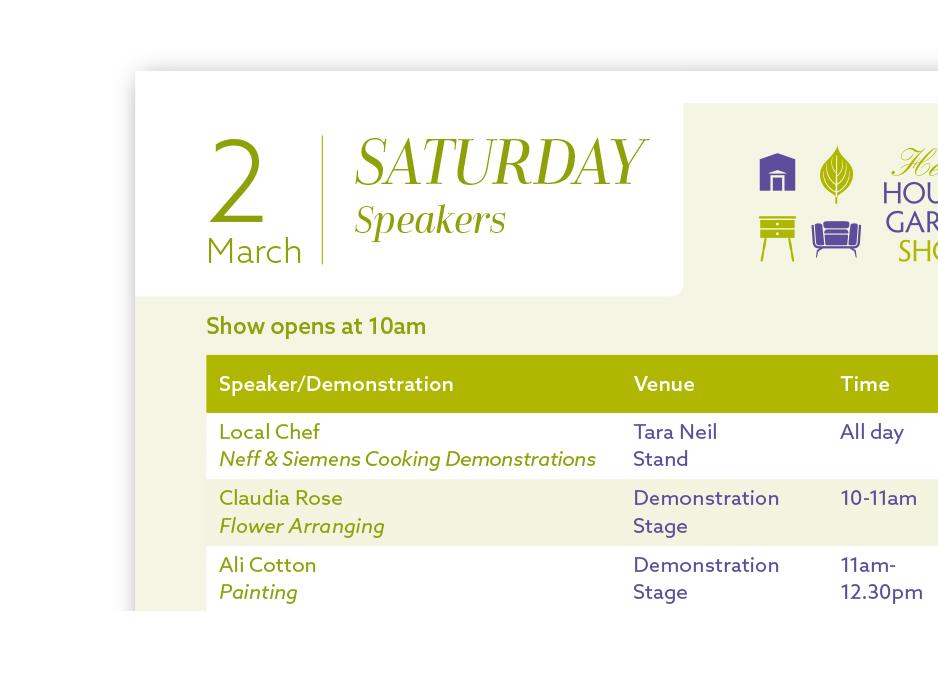 The Henley House & Garden Show Programme