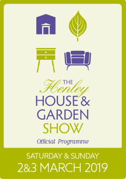 Front cover of Henley House & Garden Show Programme an example of Studio Stanley's graphic design work