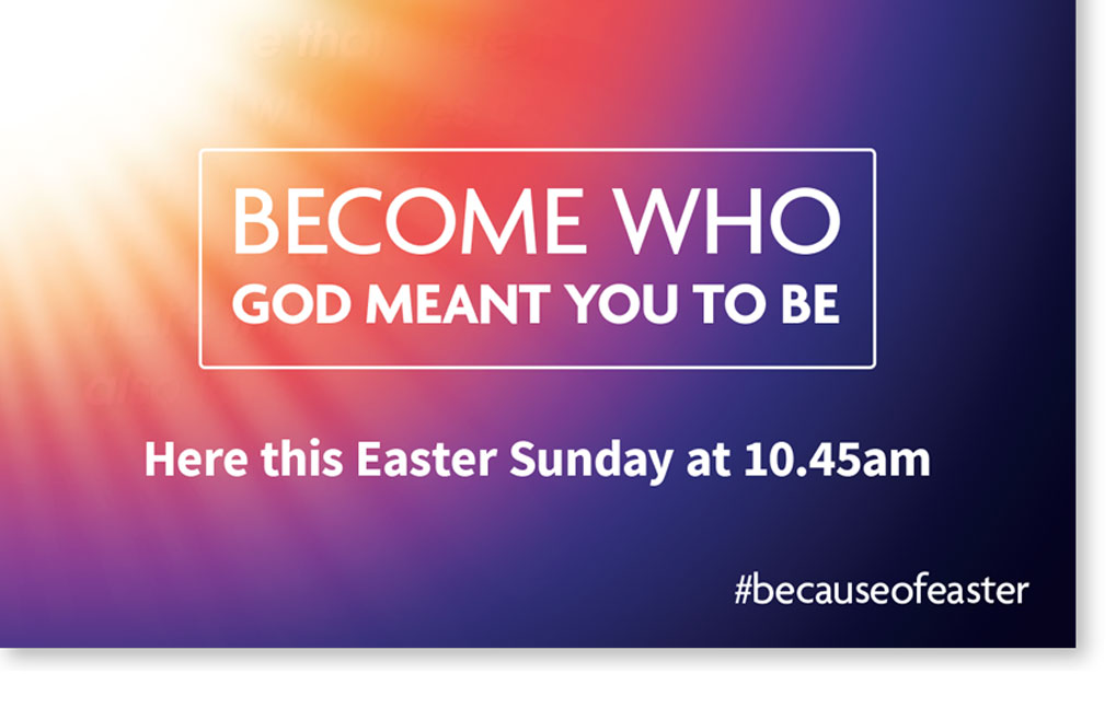 Wycliffe Baptist Church Easter Poster