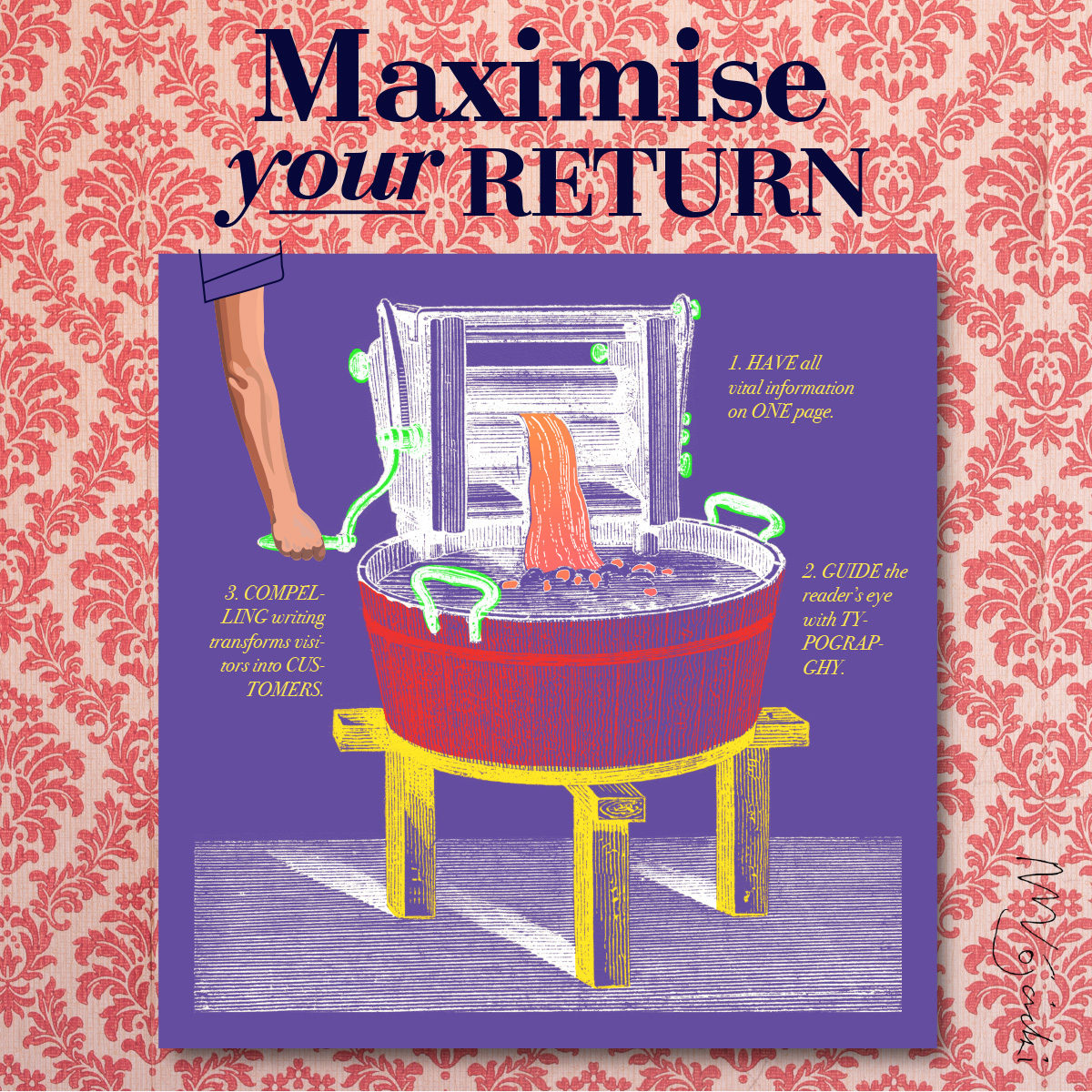 Maximise your return: Three tips to extract the most value from your online brand